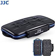 JJC MC-STM23 专业防水手机 SIM 卡和存储卡保护盒,适用于 8 SD + 8 MSD + 2 个 SIM + 2 个 Micro SIM + 3 个 Nano SIM 卡存储