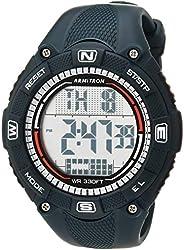 Armitron Sport 男士数字计时树脂表带手表,40/8477
