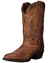 laredo 女式 maddie 西部靴圆头–51112