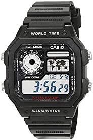 CASIO 卡西欧 Collection AE-1200WH 男士手表