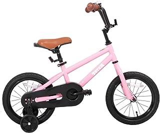 JOYSTAR 12 英寸 14 英寸 16 英寸 儿童巡洋舰自行车 带训练轮 适合 2-7 岁女孩和男孩 幼儿儿童自行车