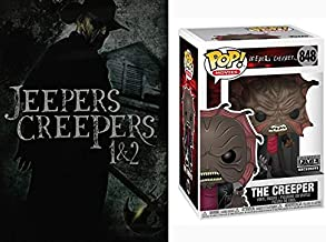 Don't Stop On Them Desert Roads, Justin Long Knows What I'm Talking About: Jeepers 爬行服 1 + 2 DVD & The Creeper Funko Pop! ...