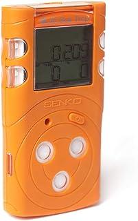 多气体探测器 CO、H2S、O2、LEL – [SENKO MGT-P] 可充电  高灵敏度   透明报警   气体泄漏   可燃