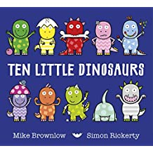 Ten Little Dinosaurs (English Edition)