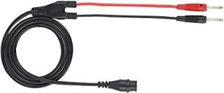 BNC 测试导线插头同轴插头电缆测试导线电缆BNC公头到双香蕉插头适用于示波器