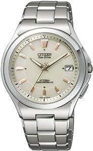 [西铁城]CITIZEN 手表 ATTESA Eco-Drive 光动能 电波表 ATD53-2843 男士