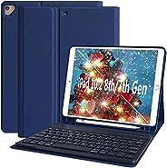 iPad Air * 4 代保护套,带键盘 iPad 10.9 2020 键盘保护套,带笔筒蓝牙键盘保护套,适用于 iPad 11 Pro 2018,iPad 10.9 英寸 2020,超薄键盘保护套