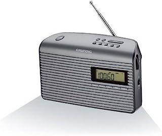 Grundig 根德 Music 61 接收信号收音机,黑色/石墨色