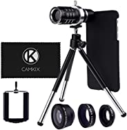 仅适用于苹果 iPhone 6 Plus / 6S Plus 的相机镜头套件 - 12x 长焦镜头 - MVD0050-L6P-BLA Lens Kit