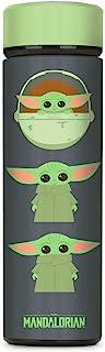 Controller Gear The Mandalorian Baby Yoda 真空绝缘不锈钢运动水壶,防漏,宽口,17 盎司(约 481.9 克),500 毫升 - 非特定机器