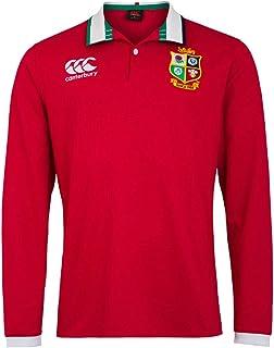 Canterbury 男式英国和爱尔兰狮子队长袖经典运动衫