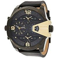 Diesel 男 DZ7377DZ7377 Analog 皮革 黑色 DZ7377 watches