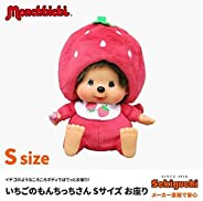 Monchichi 草莓朋友 毛绒玩具 S 坐 高17厘米