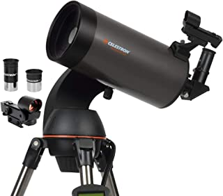 Celestron NexStar 127SLT 计算机望远镜-紧凑且便携式-Maksutov-Cassegrain光学设计-SkyAlign技术-计算机手动控制-127mm光圈