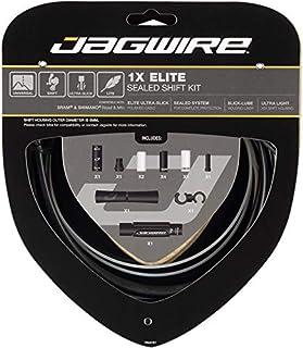 Jagwire Elite Sealed Shift 电缆套装 适用于成人,男女皆宜,黑色,均码