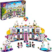 LEGO 乐高 41450 Friends Heartlake City 购物商场积木套装,带 5 个商店,4 个迷你玩偶,小洋娃娃亨利和婴儿公仔