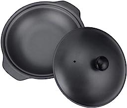 joyMerit Cookware 铸铁砂锅带盖,非常适合蒸煮、慢炖 - S3