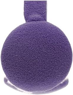 LOBERS 紫色带毛皮音乐耳机 #66343