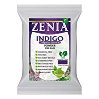 Zenia 靛藍粉發黑色自然*劑 2015 年裁剪 500g