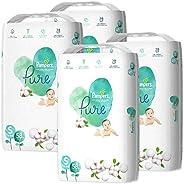 Pampers 帮宝适 纸尿裤 亲肤 Pure(纯型) (4~8千克) 232片(58片×4包) [盒装商品]
