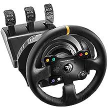 THRUSTMASTER 4468007 TX 賽車輪皮革版英國 - (游戲控制器)