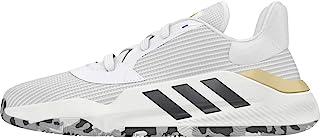 adidas Pro Bounce 2019 低白/黑色/金色篮球鞋(EF0472)