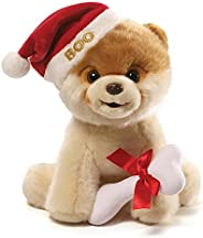 GUND 小BOO毛絨玩具-圣誕款-9英寸(23cm)