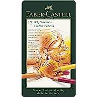 Faber Castell 辉柏嘉 F110012 彩色铅笔 马口铁盒装 12色