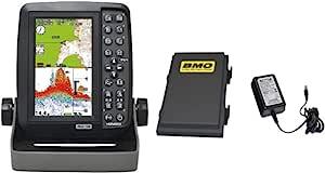 HONDEX 鱼探测器 鱼群探测器 便携式GPS探测器鱼 内置GPS5型宽 PS-611CN-BM BMO电池套装