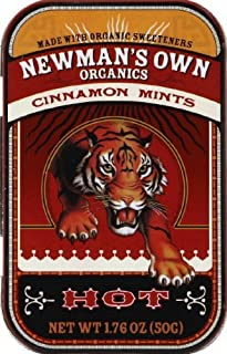 Newman's Own Organics-薄荷糖锡肉桂肉桂-1.76 盎司。