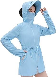 Anpox 女式防紫外线长袖*上衣夏季*服 UPF 50+