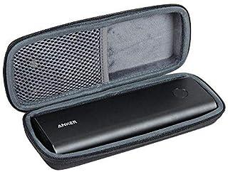 Anleo 硬质旅行箱适用于 Anker PowerCore+ 20100 USB-C 超高容量高级便携式充电器 20100mAh 外置电池