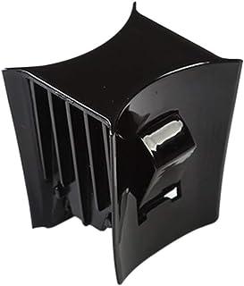 CALIDAKA 汽车杯架限制插入适用于 Tesl-a 型号 3/型号 Y 2017-2020 配件,水杯插槽稳定夹防滑杯架内部装饰中心控制台易于穿脱