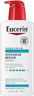 Eucerin Intensive 修护乳液-适合极干,片状的皮肤-用皂洗手后使用-16.9液体盎司,500毫升
