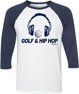 Swing Juice Golf & Hip Hop 3/4 长度插肩袖 T 恤