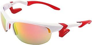AirFly(Air Fly) 鼻垫运动太阳镜 AirFly 椭圆镜片 白色/红金镜面 AF-102 C1