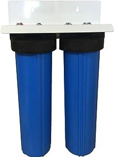 20 英寸 2 阶段*PENTEK 大蓝色全屋滤水器,带催化碳/KDF85
