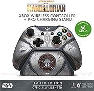 Controller Gear Star Wars:曼陀罗里亚婴儿尤达,Xbox 无线控制器 + Pro 充电支架套装,适用于 Xbox-限量版-Xbox,Disney,Lucasfilm Ltd. 官方* - Xbox