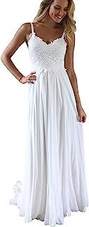 Anna's Bridal 长袖新娘婚纱 2021 蕾丝沙滩波西米亚新娘礼服