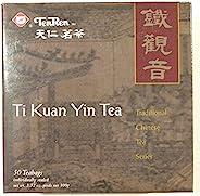 天人Ti Kuan Yin 乌龙茶(50 个茶袋独立密封)