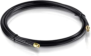 TRENDnet LMR400 N 型公对 N 型母端防水电缆TEW-L102 RP-Male to RP Female (6.5 Ft.)