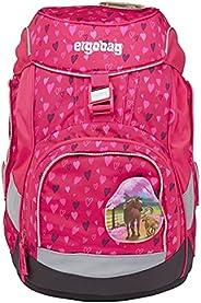 ergobag 中性款 儿童 Horseshoebear cubo 学校包, 马蹄草, Einheitsgröße, 背包背包