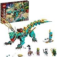 LEGO 乐高 71746 NINJAGO 丛林龙积木套装,忍者Lloyd和Zane人偶,适合 8 岁以上男孩和女孩