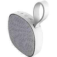 蓝牙淋浴扬声器,便携式音箱带低音炮,IPX6 防水 TWS 无线扬声器,迷你音箱低音,带磁性吸附,适用于家庭、海滩、游泳…