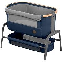 Maxi-Cosi 迈可适 Iora 侧床,高品质,可调节高度的婴儿床,适合出生至9 公斤,包括床垫和包,紧凑可折叠,几…