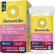Renew Life - Ultimate Flora Probiotic Women's Care - 90 billion - 60 vegetable caps