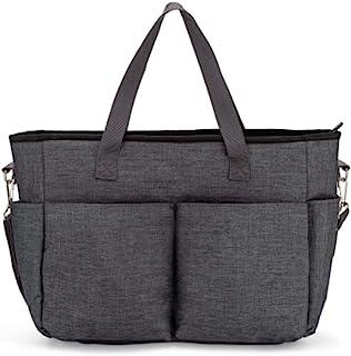 Motif Medical, Odessa 青灰色斜挎式吸奶包,女式旅行手提包,便携式便携袋,带口袋,外出吸奶妈妈,大容量