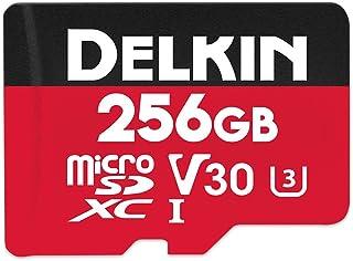 Delkin Devices 256GB Select microSDXC UHS-I (U3/V30) 内存卡 (DDMSDR500256)