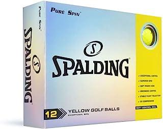 Nitro Spalding Pure Spin 12 球装 - 黄色