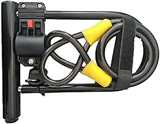 Fitting Stores 重型自行车 U 型锁带电缆